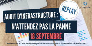 replay webinaire audit informatique